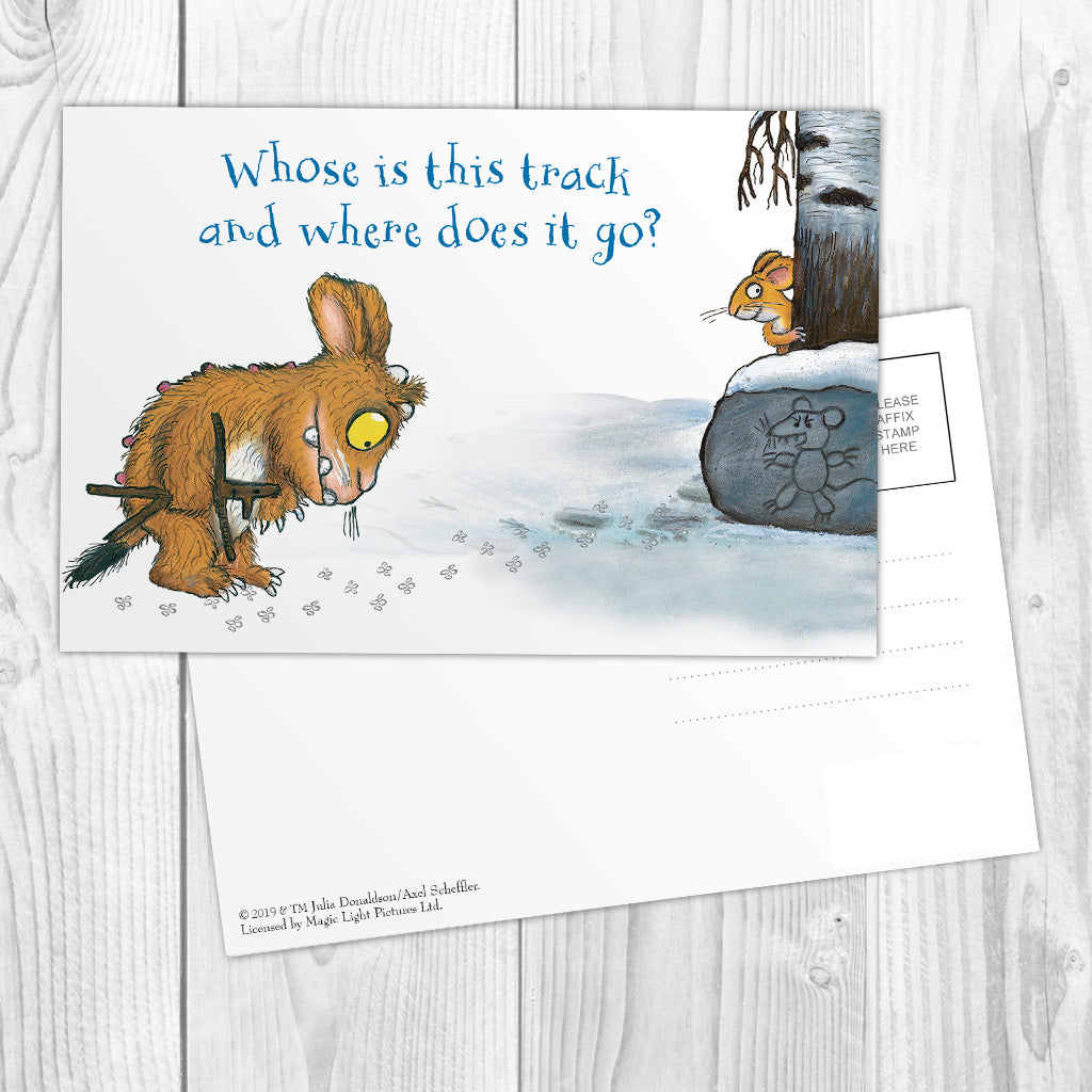 The Gruffalo's Child 'Where Does it Go?' Postcard