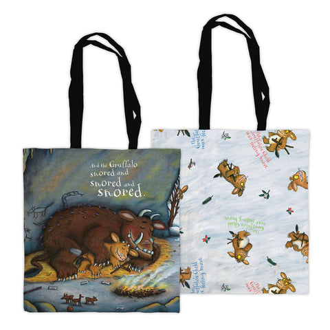 The Gruffalo's Child 'Snored and Snored' Edge to Edge Tote Bag