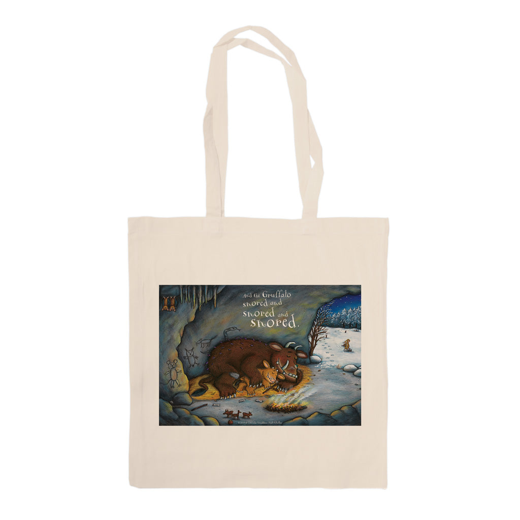 The Gruffalo's Child 'Snored and Snored' Tote Bag