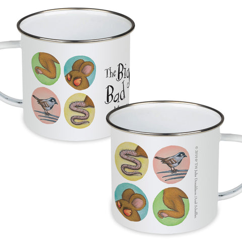 The Gruffalo's Child 'The Big Bad Mouse' Enamel Mug