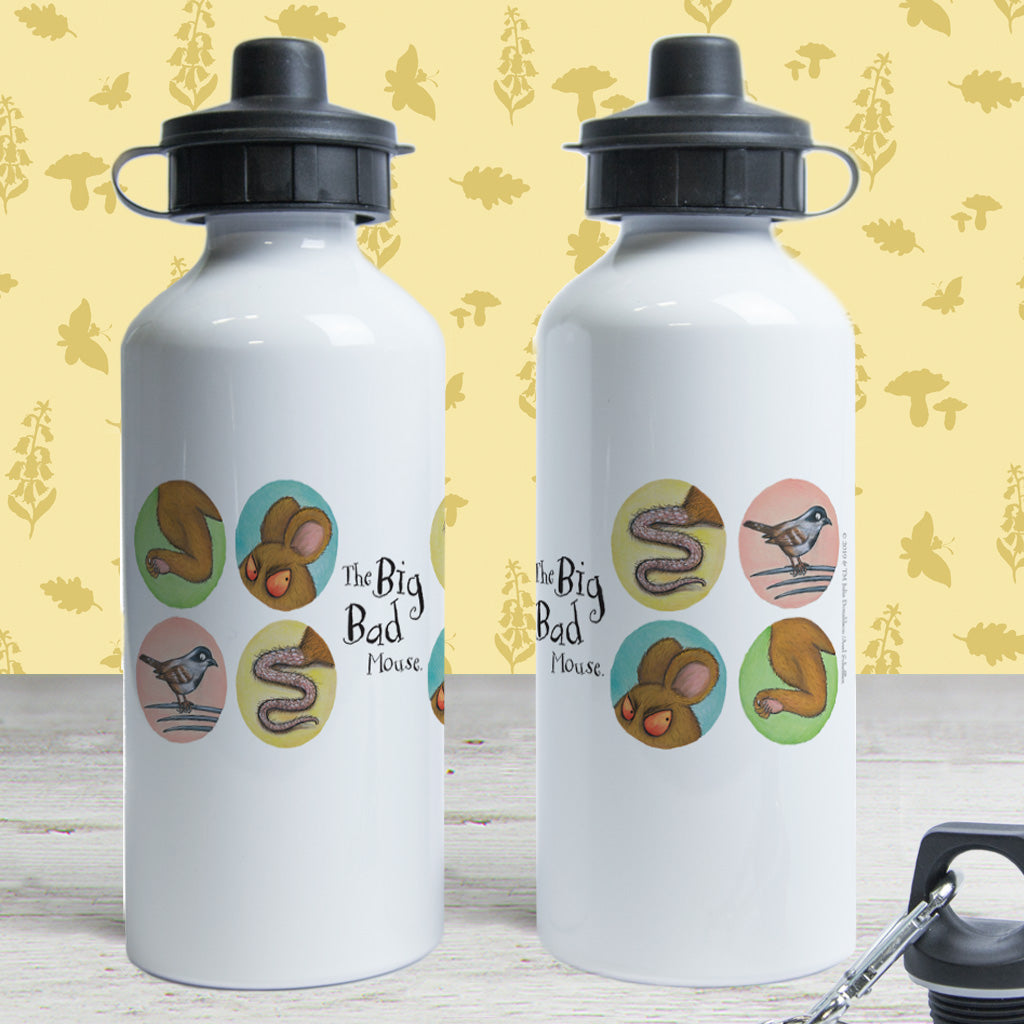 The Gruffalo's Child 'The Big Bad Mouse' Water Bottle