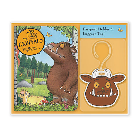 Gruffalo Passport Holder & Luggage Set Accessory