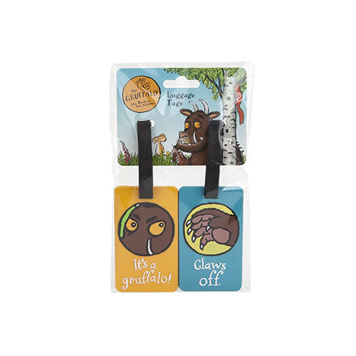 Gruffalo Luggage Tags x2 Accessory