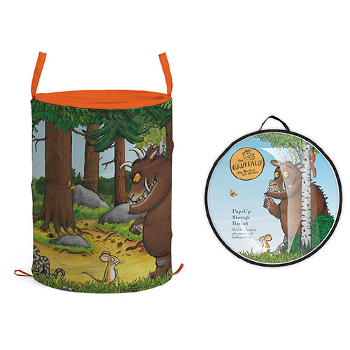 Gruffalo Pop-up Storage Tube - Wood Scene  Accessory