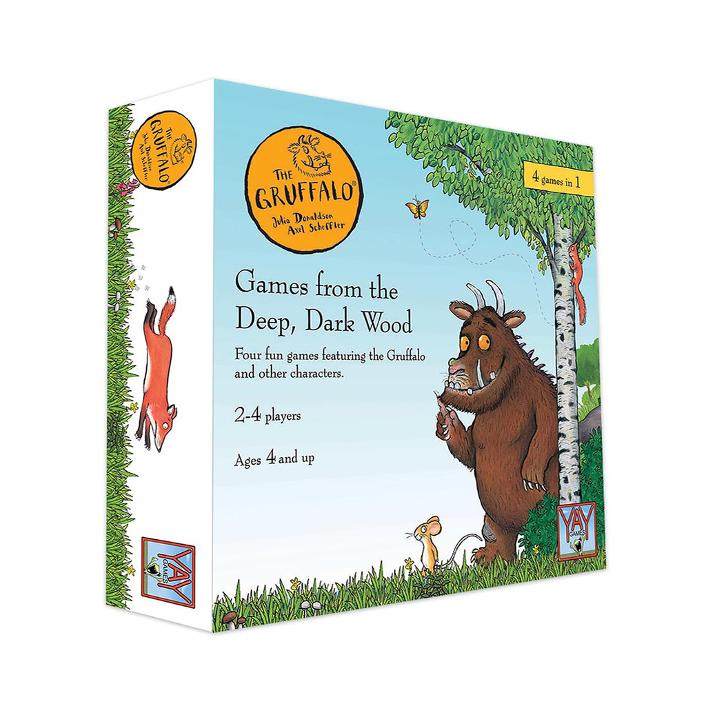 The Gruffalo Games from The Deep Dark Wood Game Collection