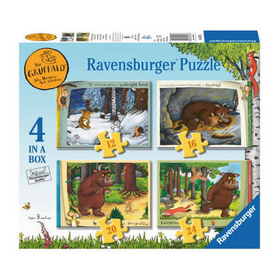 Gruffalo 4 in Box Puzzle  Toy