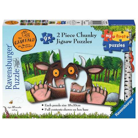 Gruffalo My First Puzzle 9x 2pc  Toy