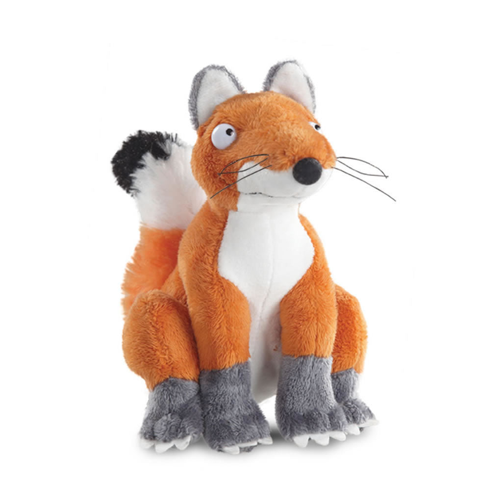 fox plush from the gruffalo