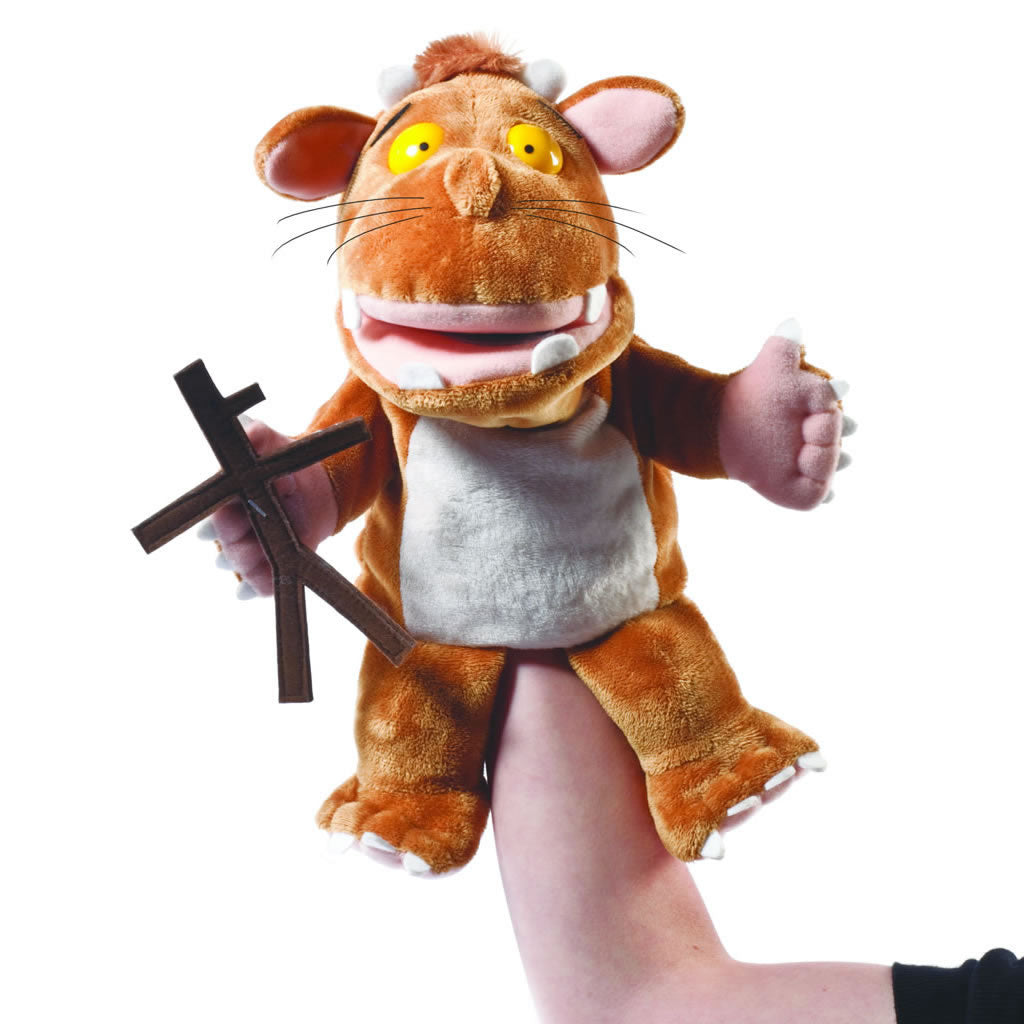 Gruffalo's Child hand Puppet