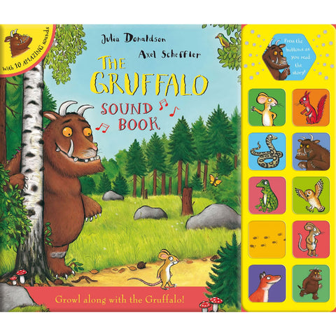 Gruffalo Sound Book Book