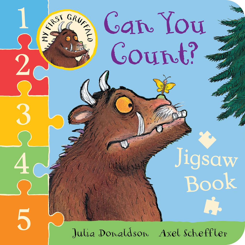 Gruffalo Jigsaw Book - Can you Count? Book