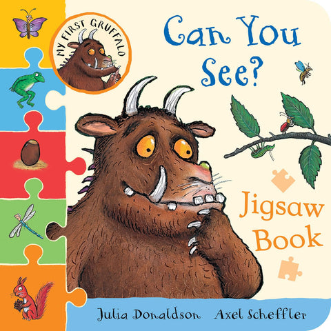 Gruffalo Jigsaw Book - Can You See? Book