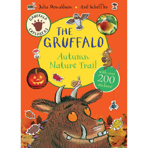Gruffalo Sticker Autumn Nature Trail Sticker Book Book