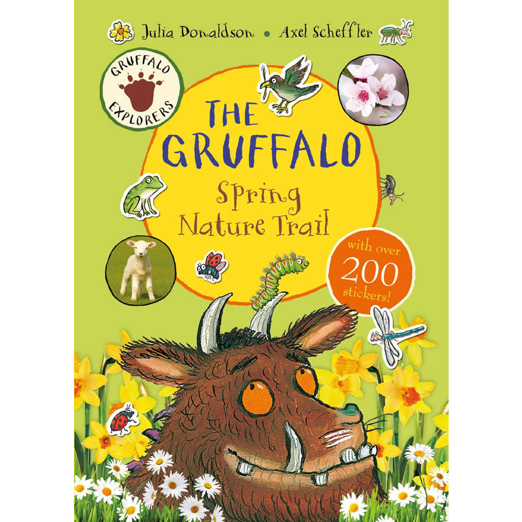 The Gruffalo Spring Nature Trail Sticker Book Book
