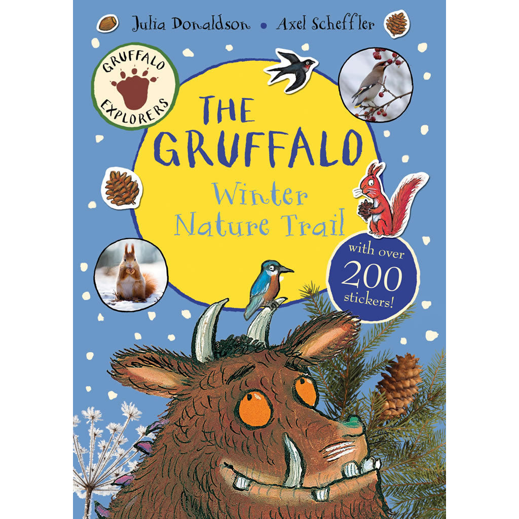 The Gruffalo Winter Trail Sticker Book Book