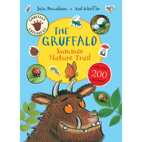 Gruffalo Summer Nature Trail Sticker Book Book