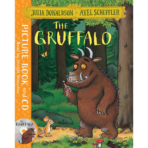 Gruffalo Picture Book and CD Book