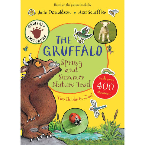 Gruffalo Spring and Summer Nature Trail Sticker Book Book