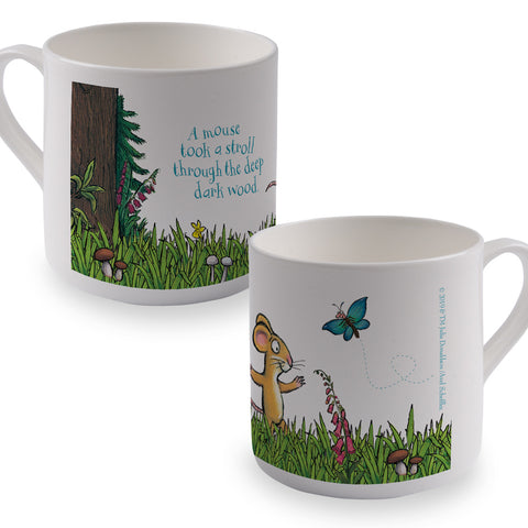 The Gruffalo 'A Mouse Took a Stroll' Bone China Mug
