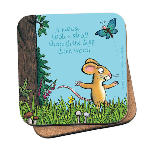 The Gruffalo 'A Mouse Took a Stroll' Coaster