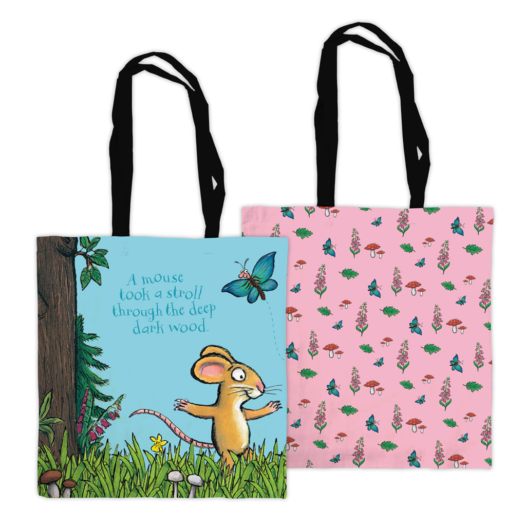 The Gruffalo 'A Mouse Took a Stroll' Edge to Edge Tote Bag