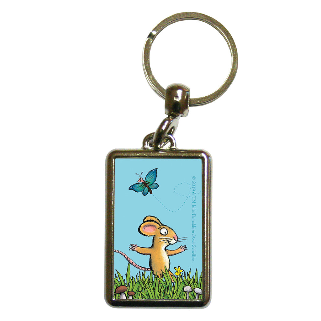 The Gruffalo 'A Mouse Took a Stroll' Metal Keyring