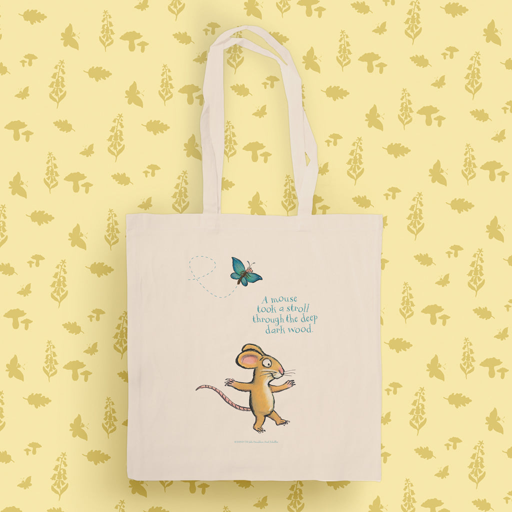 The Gruffalo 'A Mouse Took a Stroll' Tote Bag