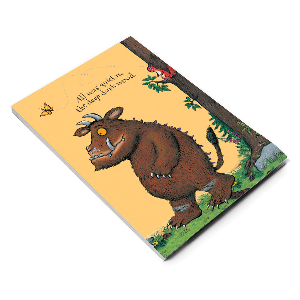 The Gruffalo 'All Was Quiet' A5 Notepad