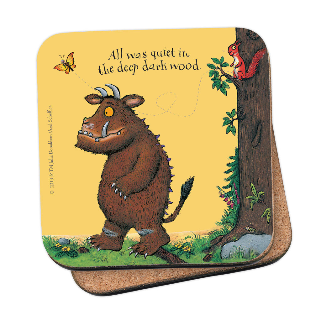 The Gruffalo 'All Was Quiet' Coaster