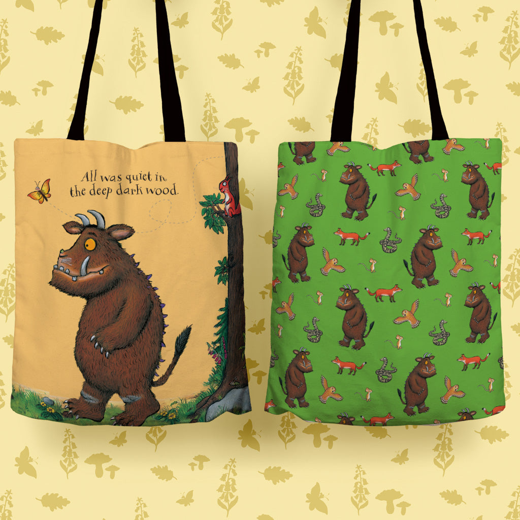 The Gruffalo 'All Was Quiet' Edge to Edge Tote Bag