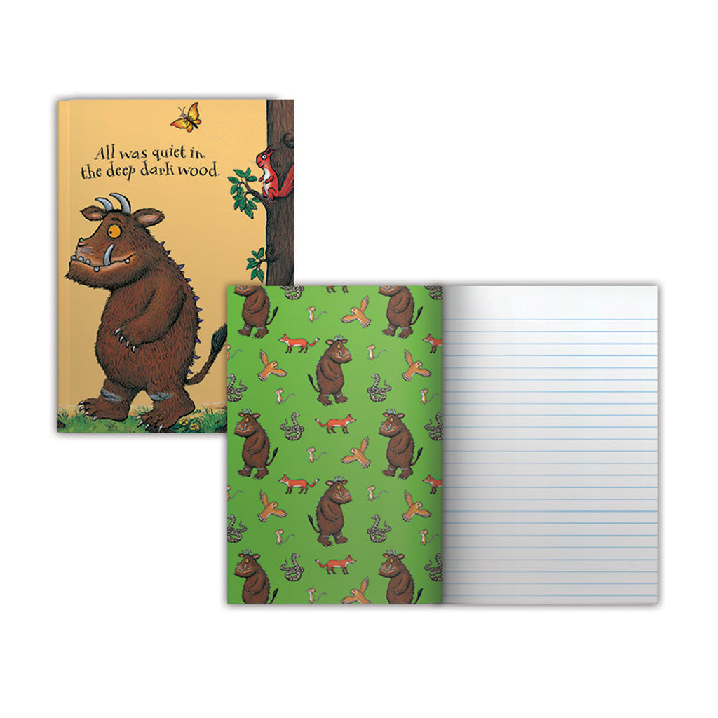 The Gruffalo 'All Was Quiet' Perfect Bound Notepad