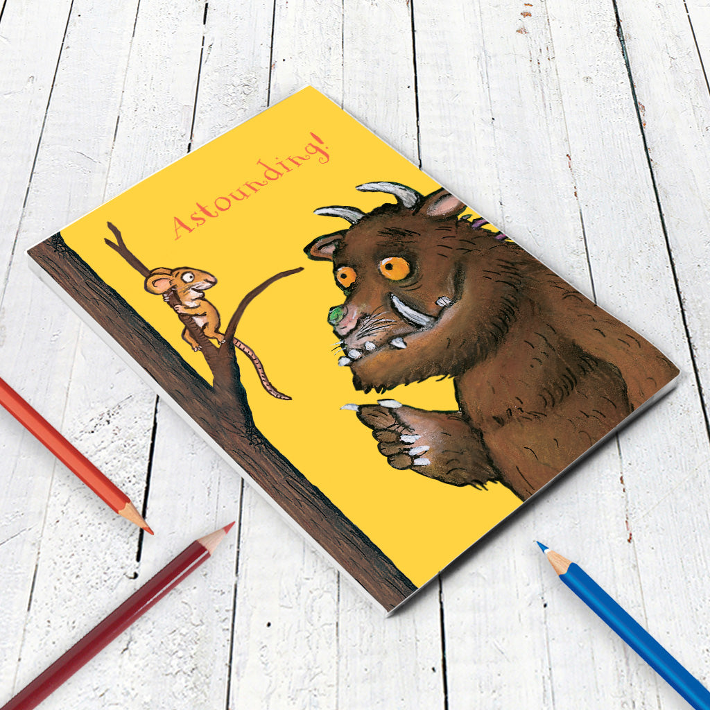 The Gruffalo 'Astounding' A5 Notepad