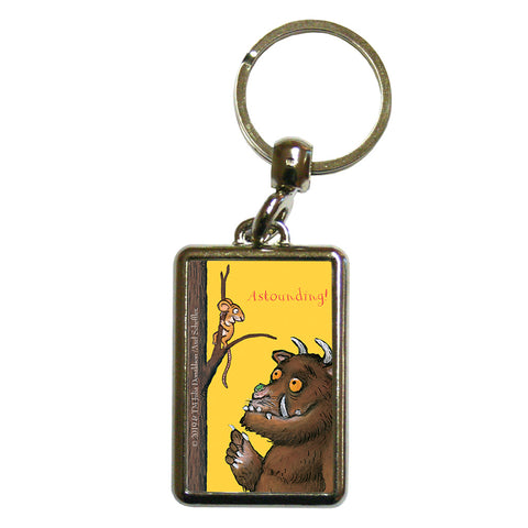 The Gruffalo 'Astounding' Metal Keyring