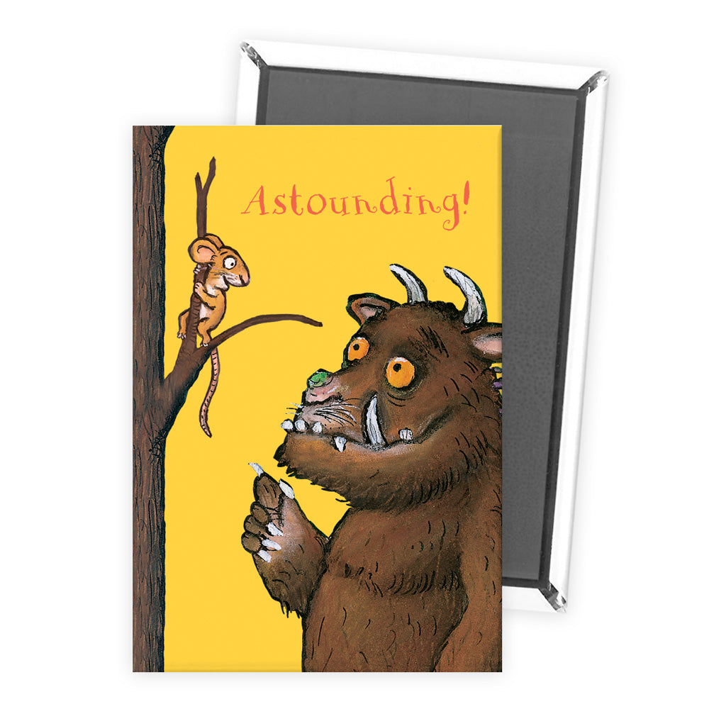 The Gruffalo 'Astounding' Magnet