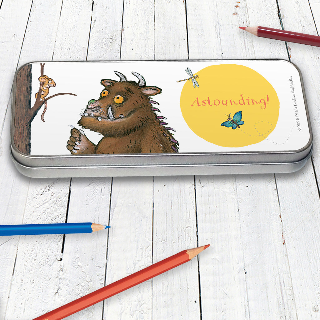 The Gruffalo 'Astounding' Pencil Tin