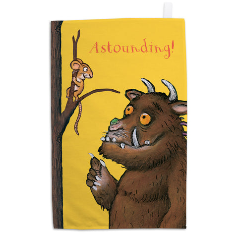 The Gruffalo 'Astounding' Tea Towel