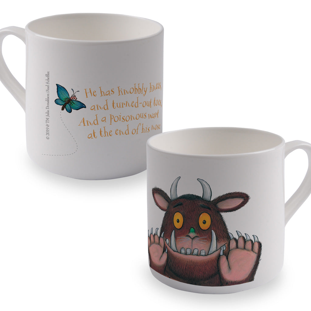 The Gruffalo 'Knobbly Knees' Bone China Mug