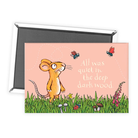 The Gruffalo 'All Was Quiet' Mouse Magnet