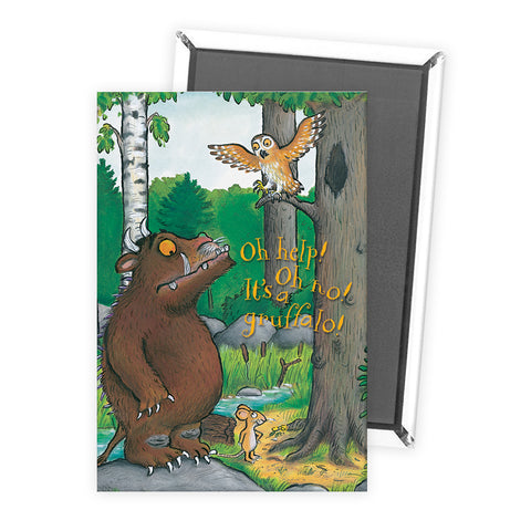The Gruffalo 'Oh Help! Oh No!' Magnet