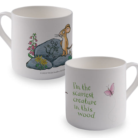 The Gruffalo 'The Scariest Creature' Bone China Mug