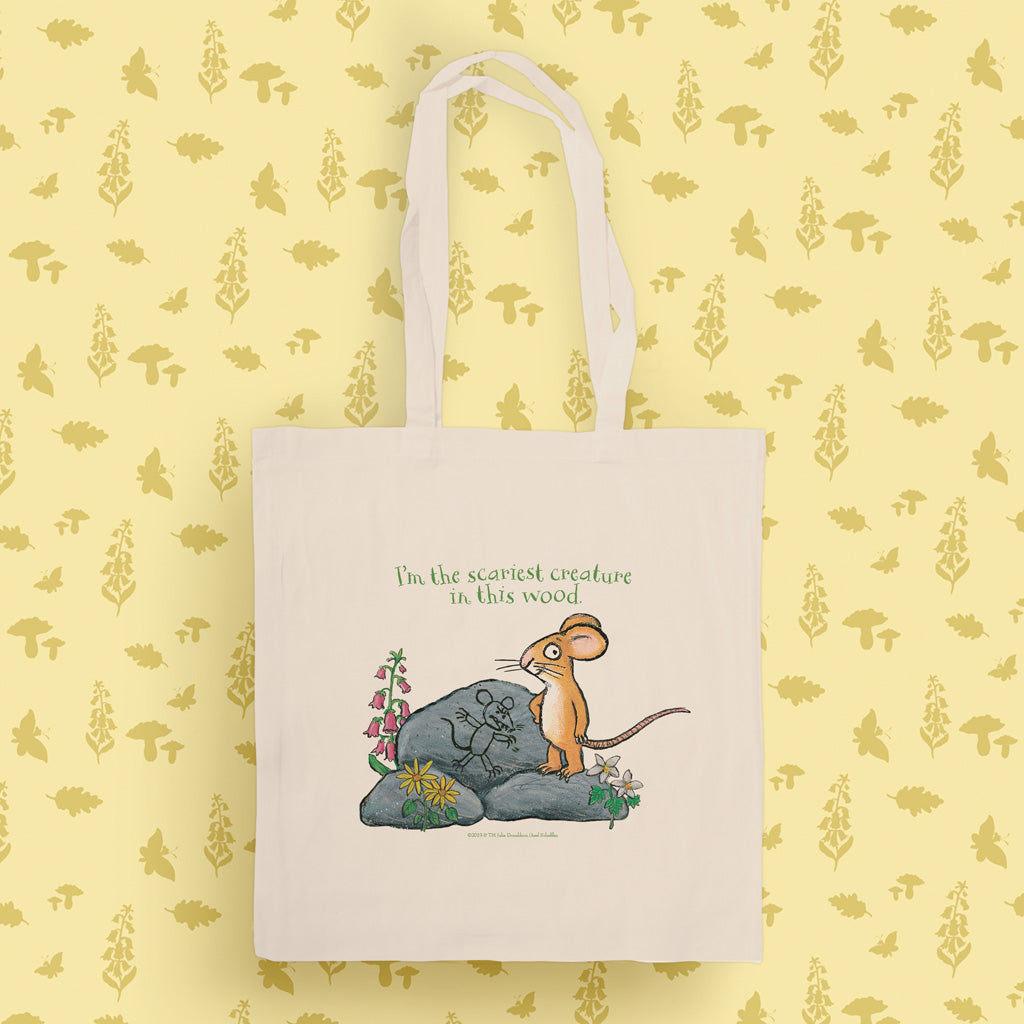 The Gruffalo 'The Scariest Creature' Tote Bag
