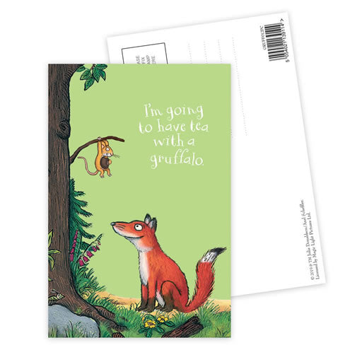 The Gruffalo 'Fox' Postcard
