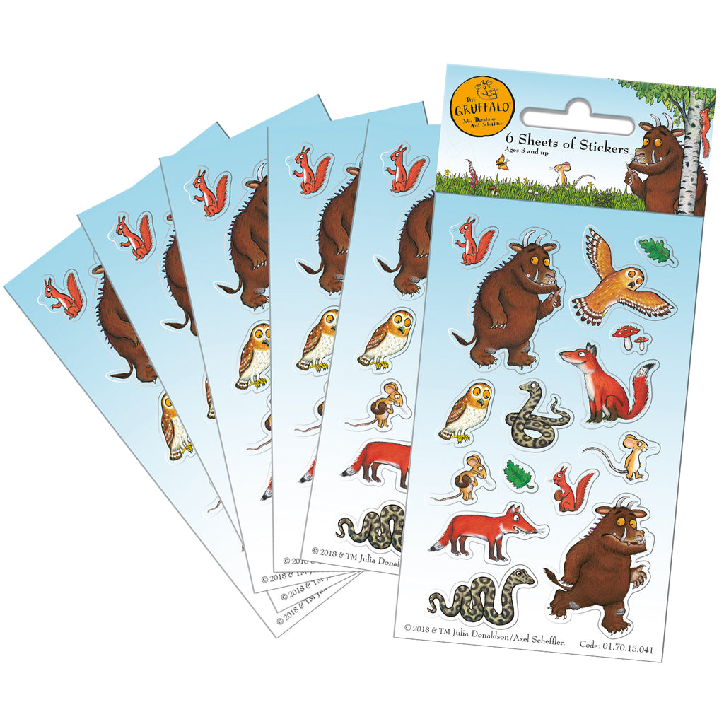 The Gruffalo Party Sticker Pack