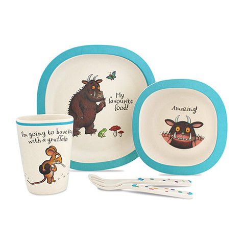 The Gruffalo 5 Piece Bamboo Dinner Set