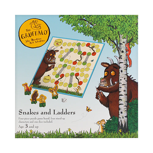 The Gruffalo Snakes & Ladders Board Game Game