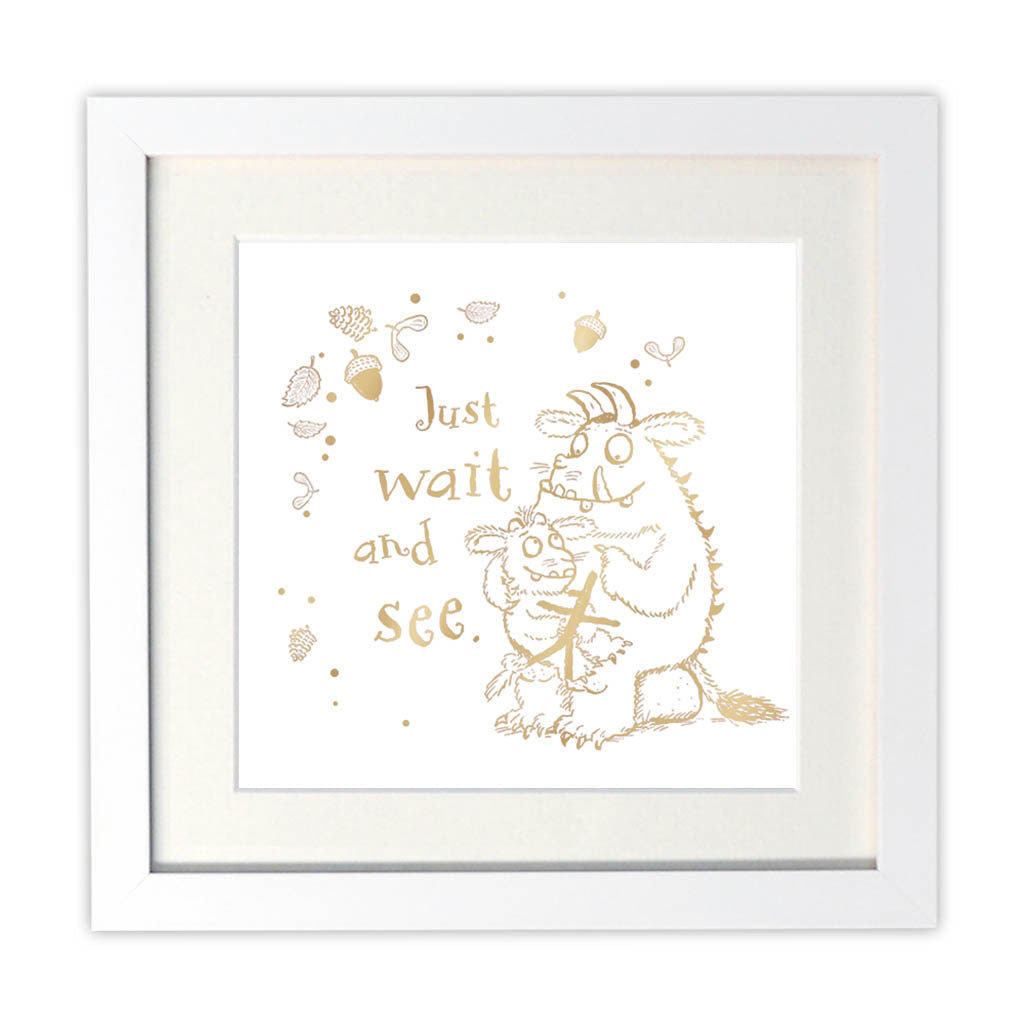 Gruffalo's Child Foil Art Print