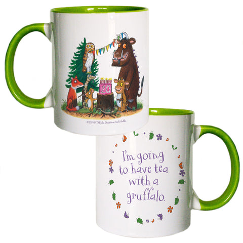 Green Gruffalo 20th Anniversary Coloured Insert Mug