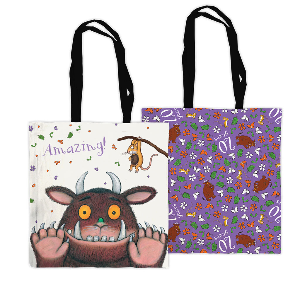 Gruffalo 20th Anniversary Edge to Edge Tote