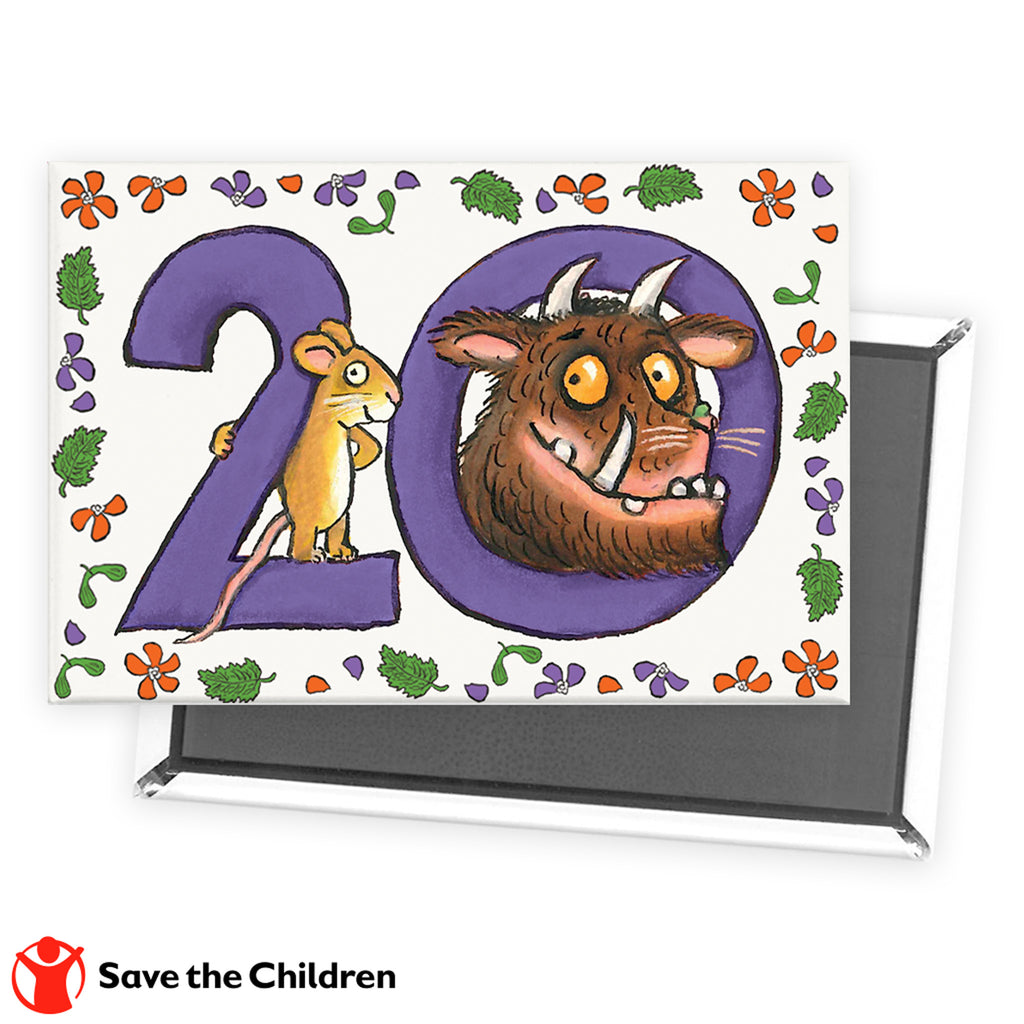 Gruffalo 20th Anniversary Fridge Magnet