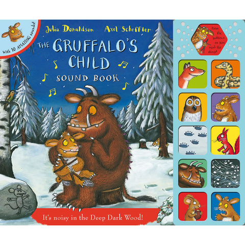 Gruffalo's Child Sound Book Book